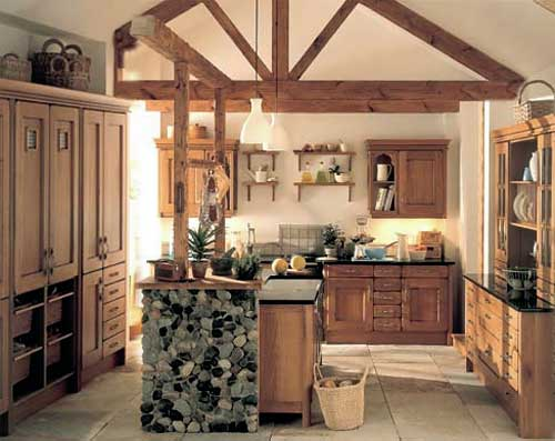 Luxury furniture Oiled Oak Kitchen